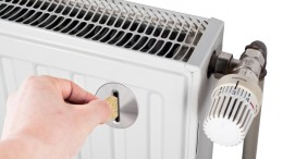 heater with coin slot