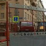 """""""Мосводоканал"""" начал реконструировать водопровод на Тверской улице"""