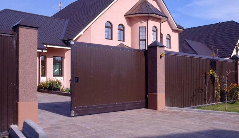 откатные ворота для дома - Zhek.biz