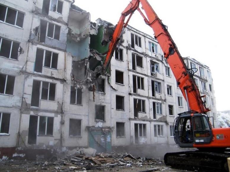 """В столице снесены почти все """"хрущобы"""""""