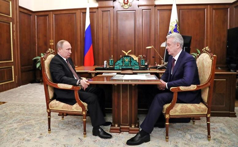 """Путин поддержал снос """"хрущевок"""" в Москве"""