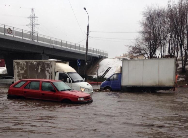 Москва пережила 11 потопов