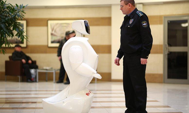 В московском метро будет работать робот-помощник