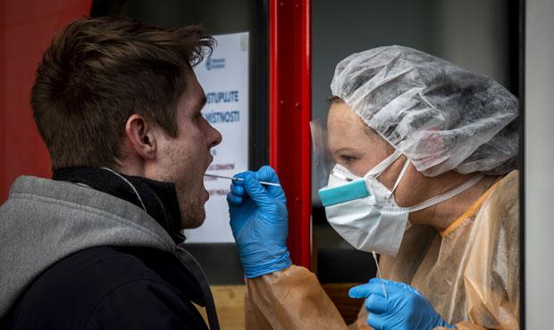 тестирование на коронавирус мазки из ротоглотки и носа